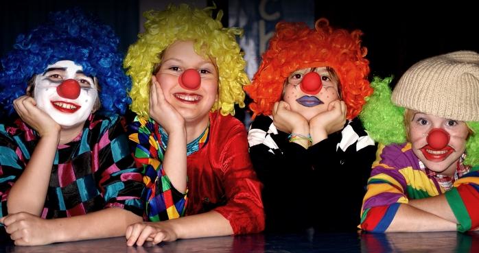 Die Clowns von Molto Vitale …