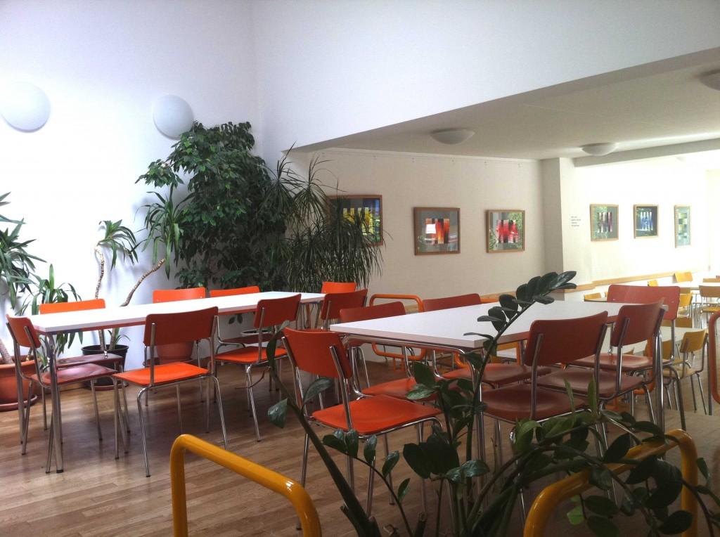 die Cafeteria der EMS