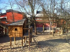 Schulhof Molt Schule © Melanie Läge